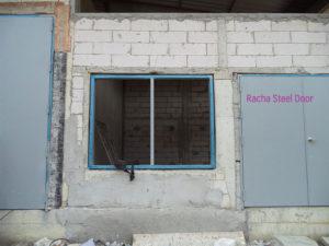วงกบเหล็ก, หน้าต่างเหล็ก